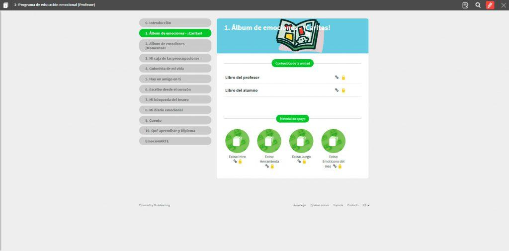 plataforma online be happy blinklearning herramientas