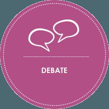 metodología be happy debate