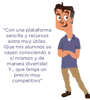 soluciones be happy profesor 1 personaje