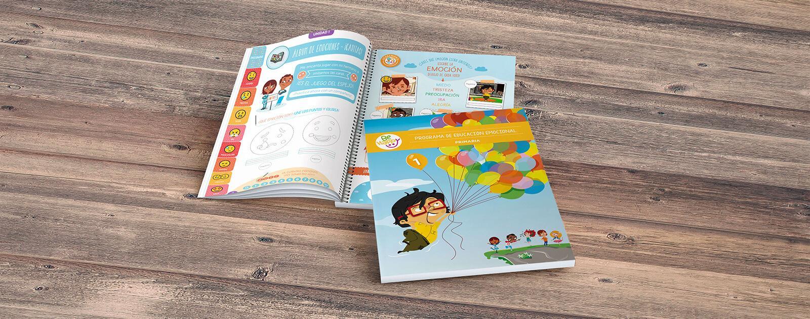 Libros Be happy del Programa de educación emocional para primaria
